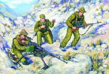 Soviet Special Troops (Spetsnaz), Soviet-Afghan War 1979-1988 · ICM 35501 ·  ICM · 1:35