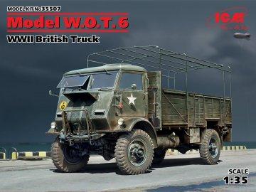 Model W.O.T.6,WWII British Truck · ICM 35507 ·  ICM · 1:35
