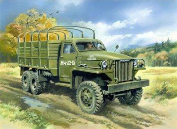 Studebaker US6 WWII Army Truck · ICM 35511 ·  ICM · 1:35