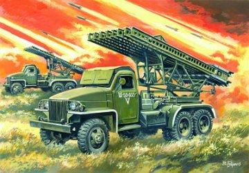 BM-13-16N WWII Soviet Multiple Launch Rocket System · ICM 35512 ·  ICM · 1:35