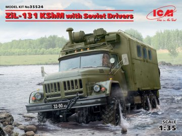 ZiL-131 KShM with Soviet Drivers - Limited Edition · ICM 35524 ·  ICM · 1:35