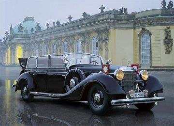 Typ 770K (W150) Tourenwagen, WWII Leader Car · ICM 35533 ·  ICM · 1:35