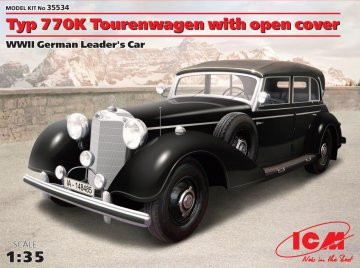 Typ 770K Tourenwagen · ICM 35534 ·  ICM · 1:35