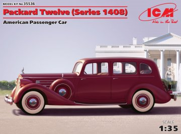 Packard Twelve · ICM 35536 ·  ICM · 1:35