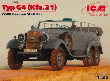 Typ G4 (Kfz.21) · ICM 35538 ·  ICM · 1:35