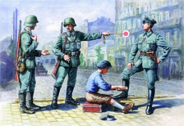 German Patrol (1939-1942) · ICM 35561 ·  ICM · 1:35
