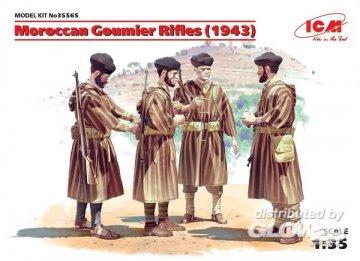 WWII Marokkanische Goumier Rifles, 4 Figuren · ICM 35565 ·  ICM · 1:35