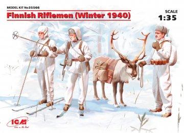 WWII Finnische Infanterie · ICM 35566 ·  ICM · 1:35
