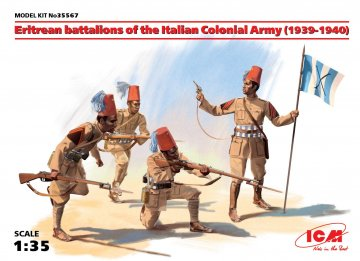 WWII Eriträisches Battalion, Italienische Armee · ICM 35567 ·  ICM · 1:35