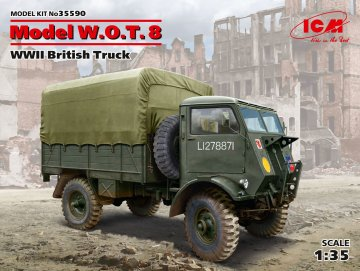 Model W.O.T.8 - WWII British Truck · ICM 35590 ·  ICM · 1:35