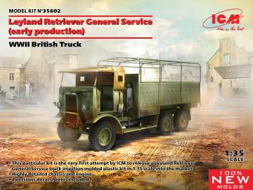 Leyland Retriever General Service (early production), WWII British Truck · ICM 35602 ·  ICM · 1:35