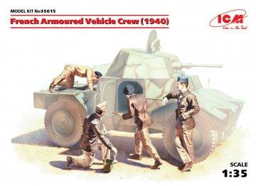 WWII französische Panzerwagen-Besatzung · ICM 35615 ·  ICM · 1:35