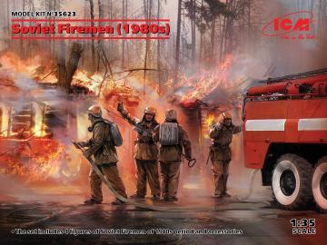 Soviet Firemen (1980s) · ICM 35623 ·  ICM · 1:35
