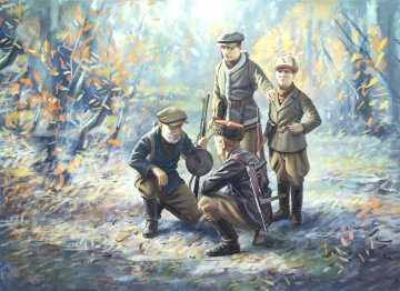 WWII Soviet Partisans · ICM 35631 ·  ICM · 1:35
