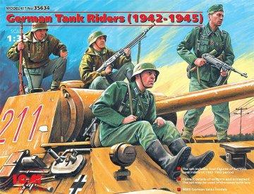 WWII Deutsche Panzerbesatzung · ICM 35634 ·  ICM · 1:35