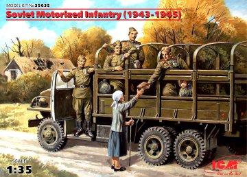 WWII Sowjetische motorisierte Infantry · ICM 35635 ·  ICM · 1:35