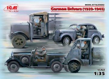 German Drivers (1939-1945) (4 Figuren) · ICM 35642 ·  ICM · 1:35