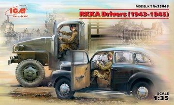 RKKA Drivers (1943-1945) (2 Figuren) · ICM 35643 ·  ICM · 1:35