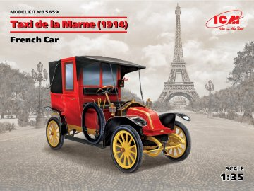Taxi de la Marne(1914),French Car · ICM 35659 ·  ICM · 1:35