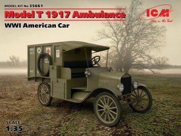 Ford T 1914, Ambulanzwagen · ICM 35661 ·  ICM · 1:35