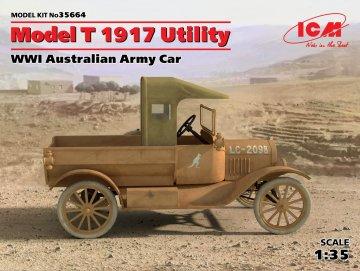 Model T 1917 Utility WWI Australian Army Car · ICM 35664 ·  ICM · 1:35