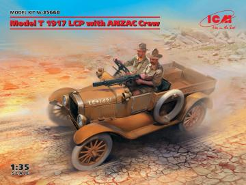 Model T 1917 LCP with ANZAC Crew · ICM 35668 ·  ICM · 1:35