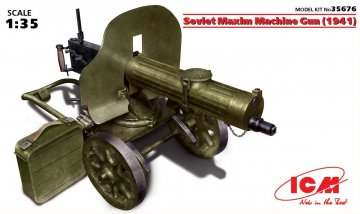 WWII Sowjetisches Maxim Machine Gun · ICM 35676 ·  ICM · 1:35