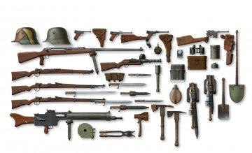 WWI Deutsche Infanterie - Waffen und Zubehör · ICM 35678 ·  ICM · 1:35