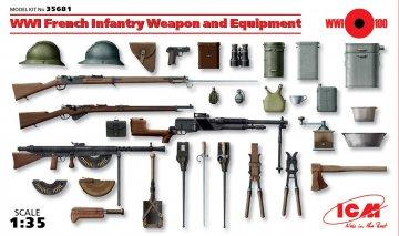 WWI Französische Infanterie · ICM 35681 ·  ICM · 1:35