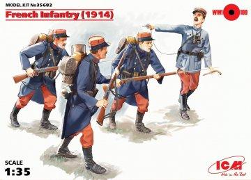 WWI Französische Infanterie · ICM 35682 ·  ICM · 1:35