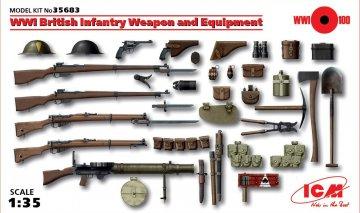 WWI Britische Infanterie · ICM 35683 ·  ICM · 1:35