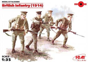 WWI Britische Infanterie · ICM 35684 ·  ICM · 1:35