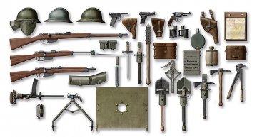 WWI Italienische Infanterie-Waffen und Zubehör · ICM 35686 ·  ICM · 1:35