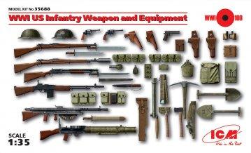 WWI US Infanterie Waffen und Zubehör · ICM 35688 ·  ICM · 1:35
