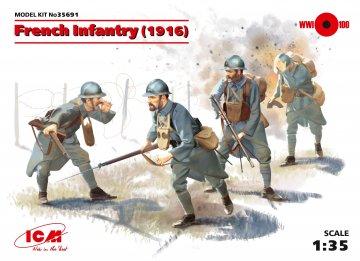 WWI französische Infanterie · ICM 35691 ·  ICM · 1:35