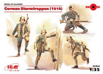 WWI deutsche Sturmtruppen · ICM 35692 ·  ICM · 1:35