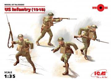 WWI US-Infanterie · ICM 35693 ·  ICM · 1:35