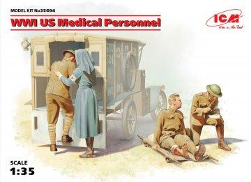 WWI US Medical Personnel · ICM 35694 ·  ICM · 1:35