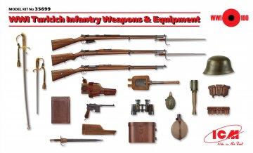 WWI Turkisch Infantry Weapons & Equipment · ICM 35699 ·  ICM · 1:35