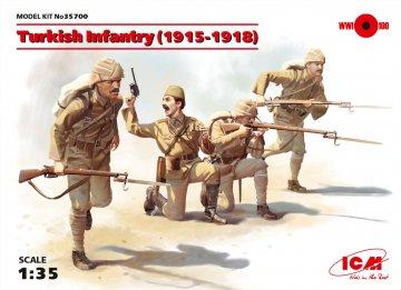 Turkisch Infantry 1915-1918 · ICM 35700 ·  ICM · 1:35