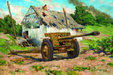 7,62cm Pak (r) WW2 German Anti Tank · ICM 35701 ·  ICM · 1:35