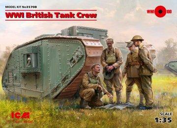 WWI British Tank Crew (4 figures) · ICM 35708 ·  ICM · 1:35