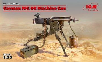 German MG08 Machine Gun · ICM 35710 ·  ICM · 1:35