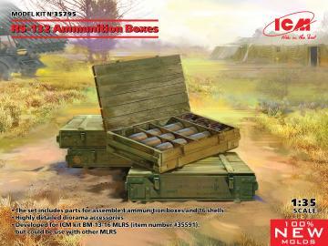 RS-132 Ammunition Boxes · ICM 35795 ·  ICM · 1:35