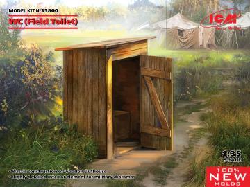 WC (Field Toilet) · ICM 35800 ·  ICM · 1:35