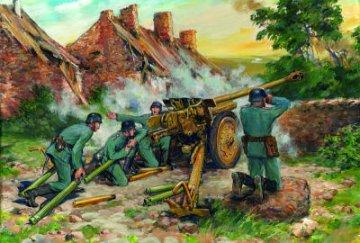 7,62 cm Pak 36 (r) with German Crew · ICM 35801 ·  ICM · 1:35