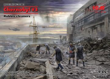 Chernobyl 3 - Rubble cleaners (5 figures) · ICM 35903 ·  ICM · 1:35