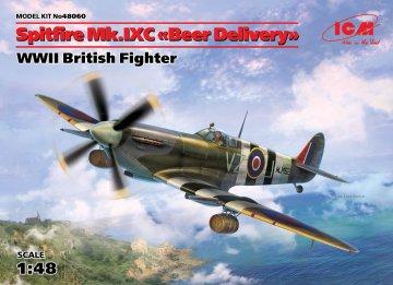 Spitfire Mk.IXC Beer Delivery WWII British Fighter · ICM 48060 ·  ICM · 1:48