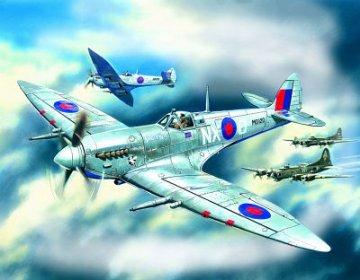 Spitfire Mk.VII, WWII British Fighter · ICM 48062 ·  ICM · 1:48