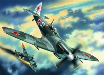 Spitfire LF.IX, USSR Air Force Fighter WWII · ICM 48066 ·  ICM · 1:48
